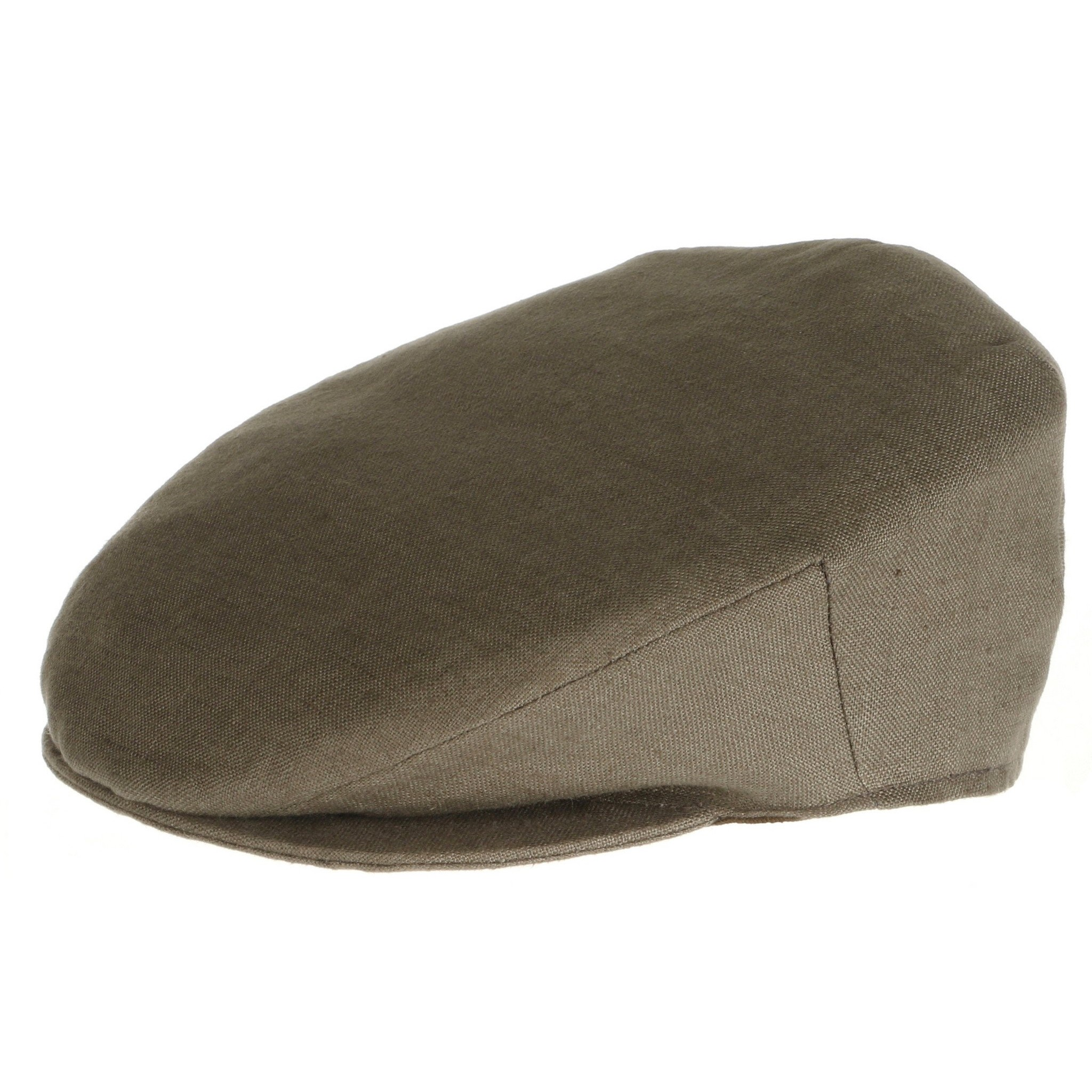 Irish Linen Touring Cap (Khaki)