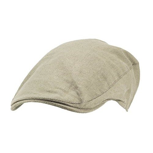 Irish Linen Touring Cap (Natural)