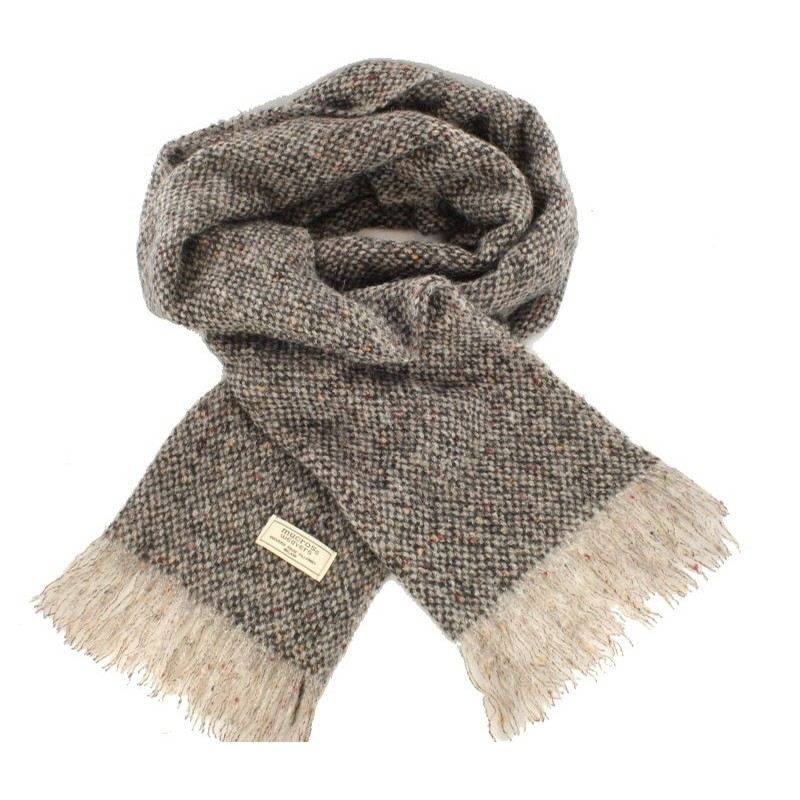 Islander Irish Scarf (Speckled Grey)