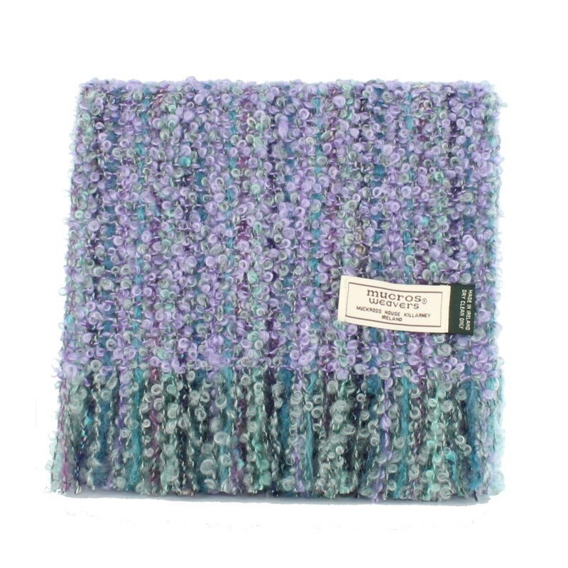 Irish Mohair Viscose Scarf (Lilac Breeze)
