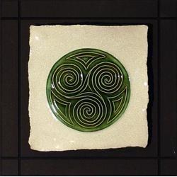 Wild Rose Pottery Celtic Spiral