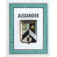 Heraldry Names Family Crest Lapel Pins