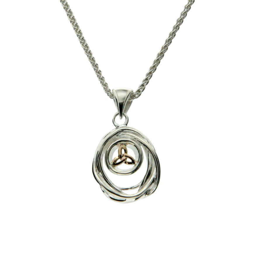Celtic Cradle of Life Pendant Small