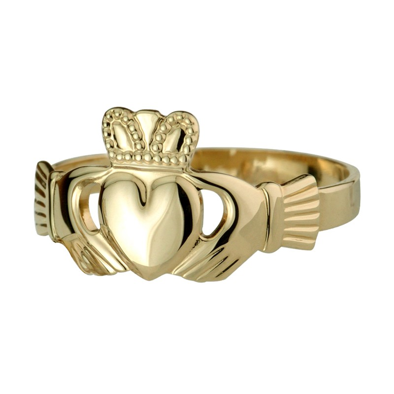 Solvar Jewelry Gold Extra Heavy Claddagh Discontinued