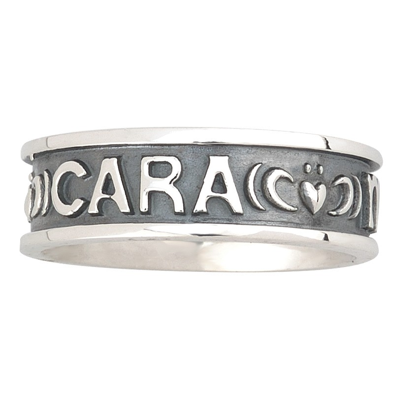 Solvar Jewelry 'Mo Anam Cara' Large Silver Ring