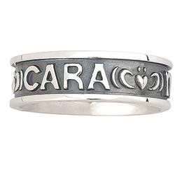 Solvar Jewelry Sterling Silver Gents 'Mo Anam Cara' Ring