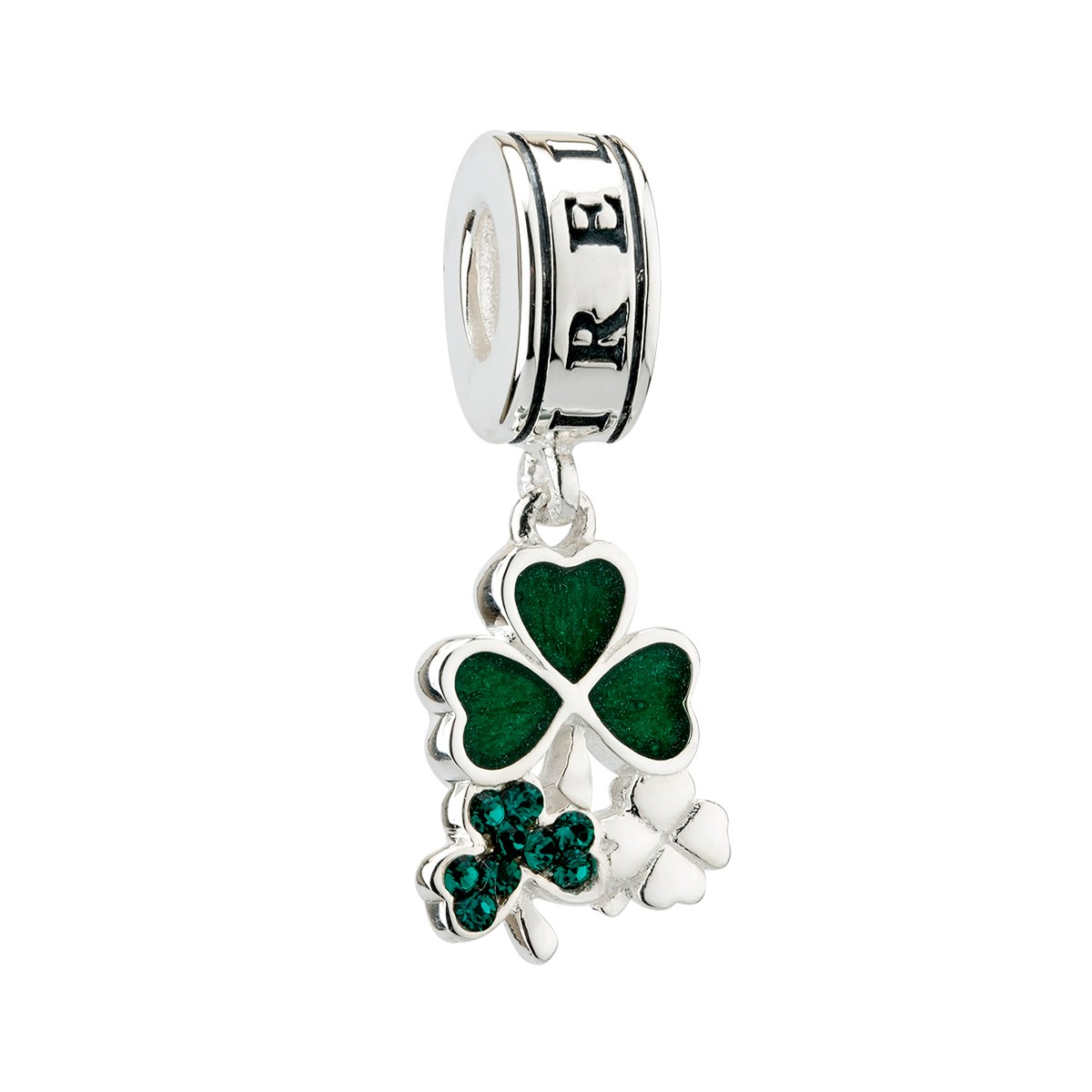 Three Shamrock Bead