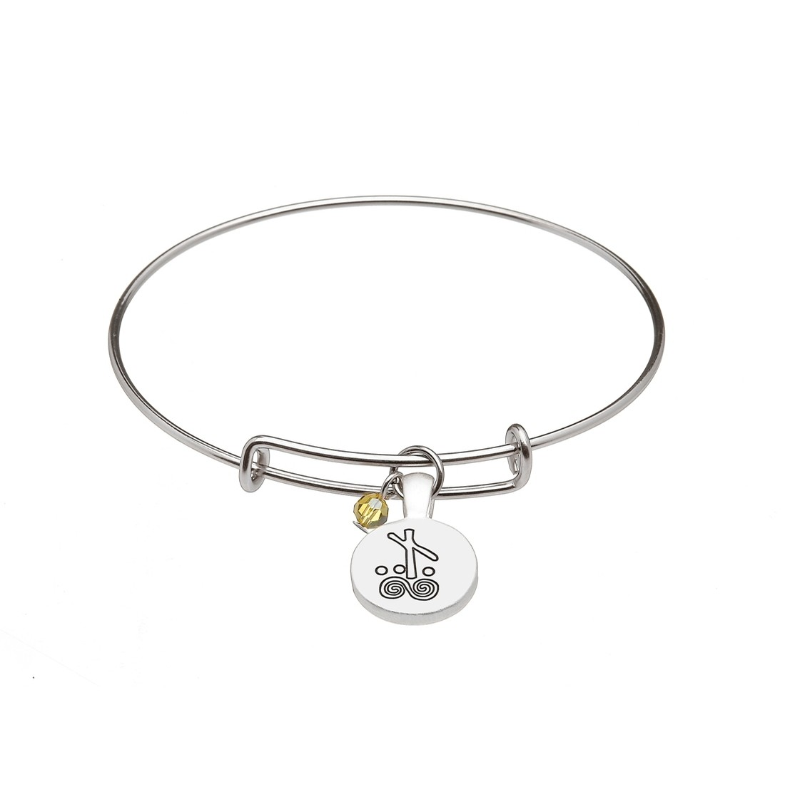 August Celtic Astrology Bangle