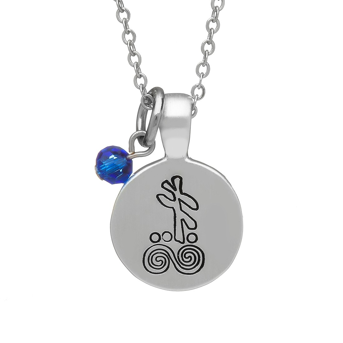 September Celtic Astrology Pendant