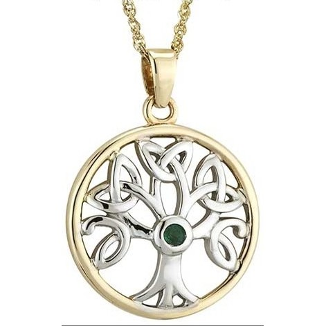 Tree of Life Pendant 14K Gold