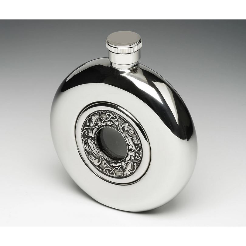 Whiskey Flask Glass Centre