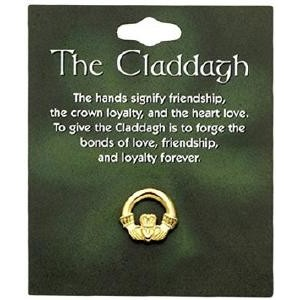BOE Claddagh Lapel Pin