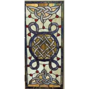 BOE Celtic Stained Glass Window