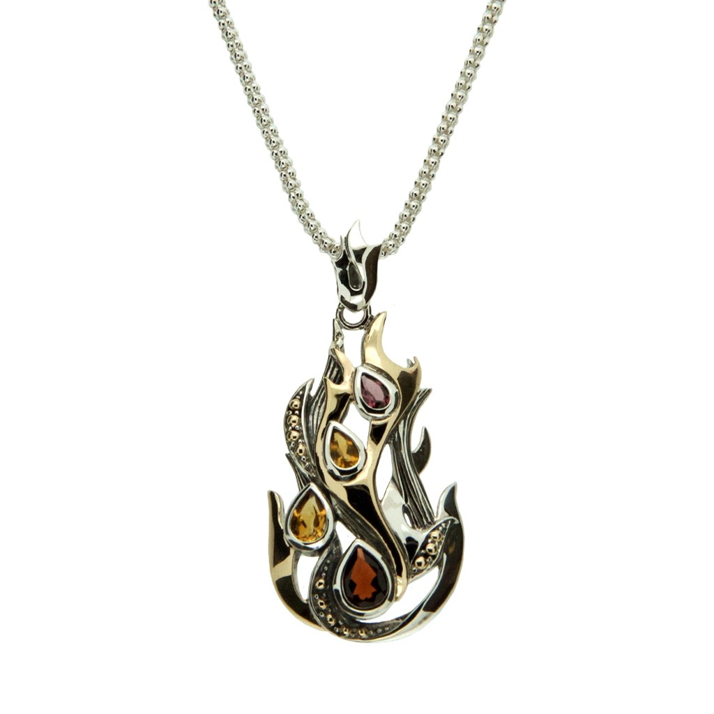 Celtic Fire Necklace