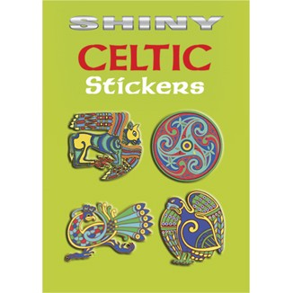 Shiny Celtic Stickers Book