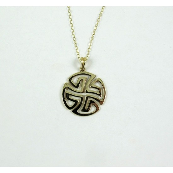 Celtic Knot Labyrinth Pendant