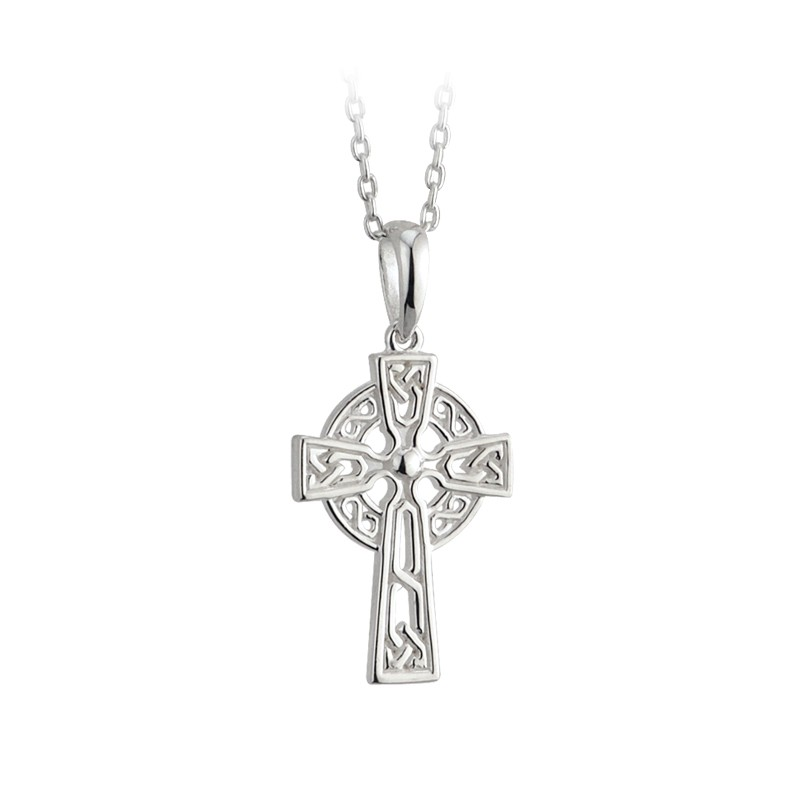 Silver Filigree Celtic Cross