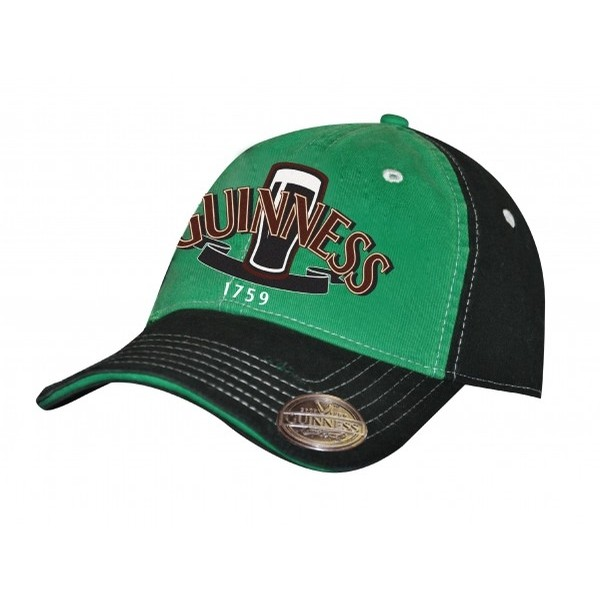 Guinness 2 Tone Green Pint Opener Cap