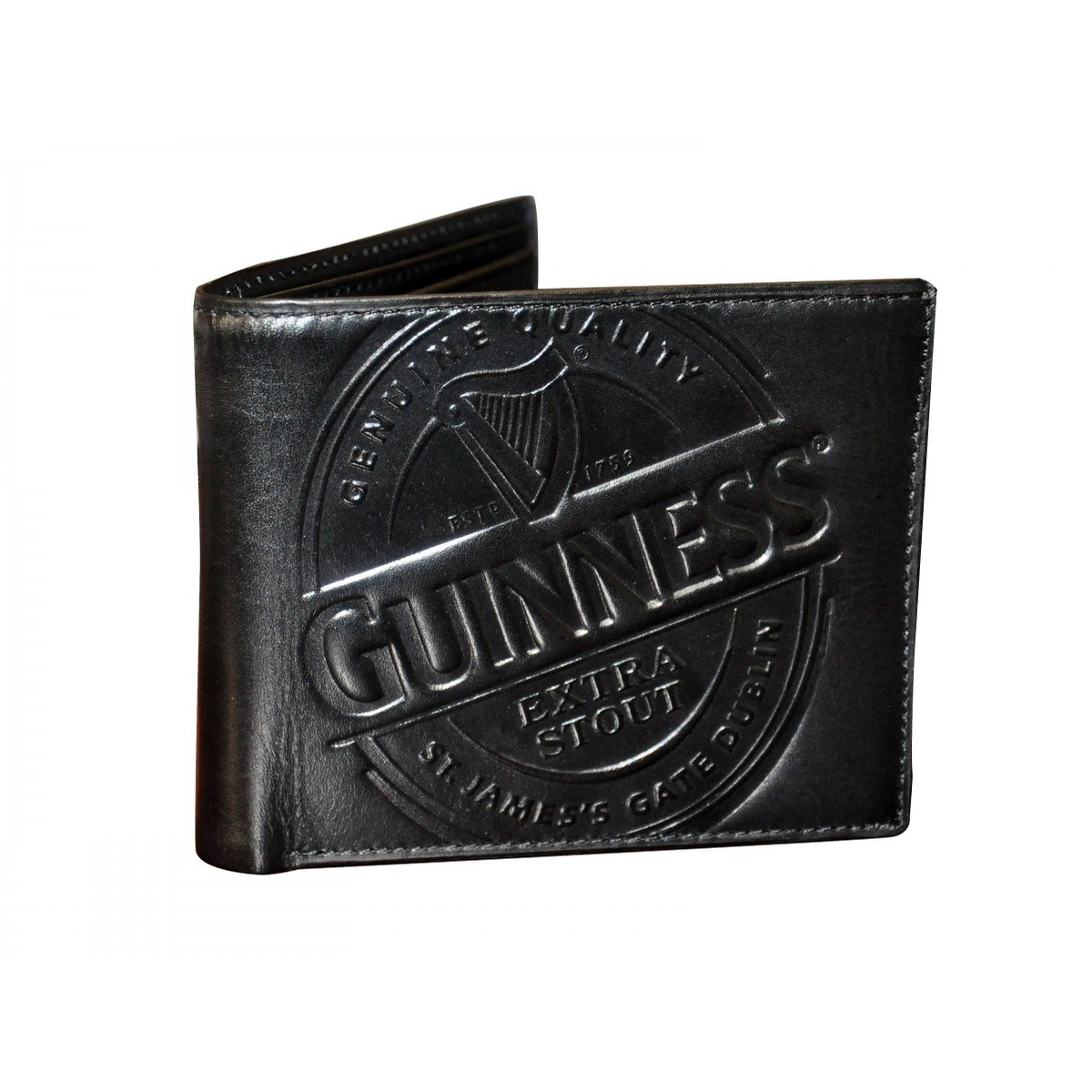 Guinness Black Label Leather Wallet