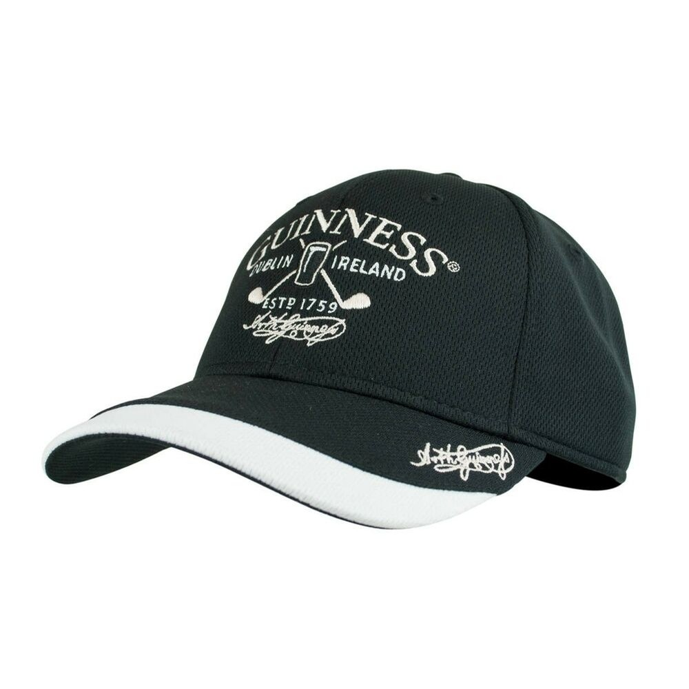 Guinness Golf Baseball Cap