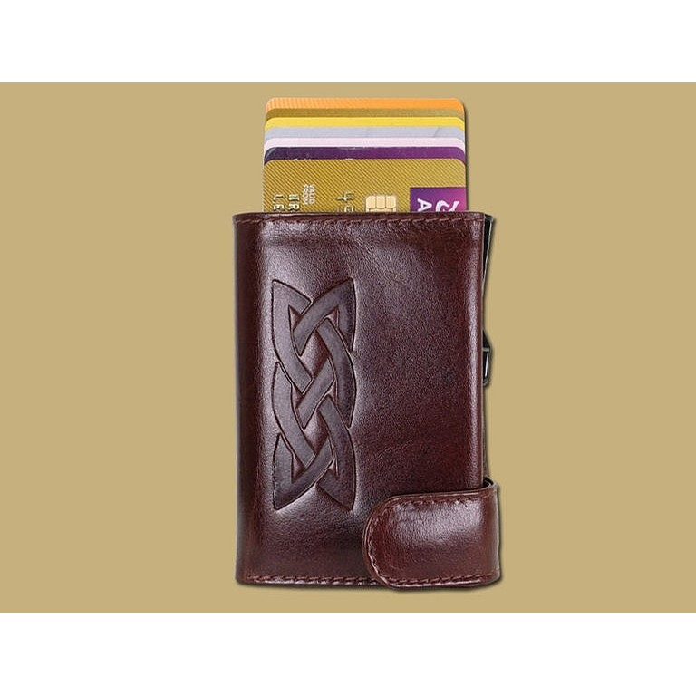 RFID Celtic Wallet (Brown)