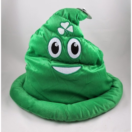 Irish Poop Emoji Hat