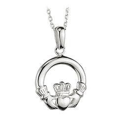 Solvar Jewelry Small Claddagh Pendant