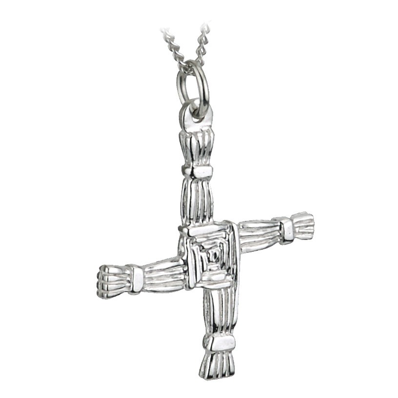Solvar Jewelry Sterling Silver St Brigids Cross