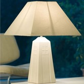 Belleek 12inch Lamp and Shade