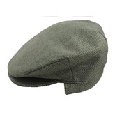 Moss Green Cap with Ear Flap