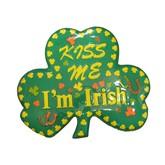 Kiss Me I'm Irish Wall Decoration