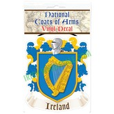 Ireland Coat of Arms Decal Bumper Sticker