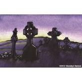 Killilagh Cemetery-Dusk