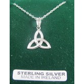Sterling Silver Trinity Knot Pendant
