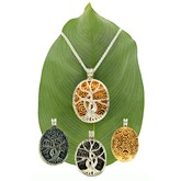 Celtic Tree of Life Four Style Pendant