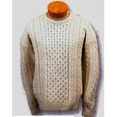 Irish Natural Merino Wool Sweater