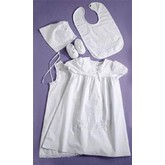 Celtic Cross Christening Gown 5 Piece Set