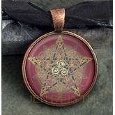 Pentacle Celtic Protection Knot Pendant