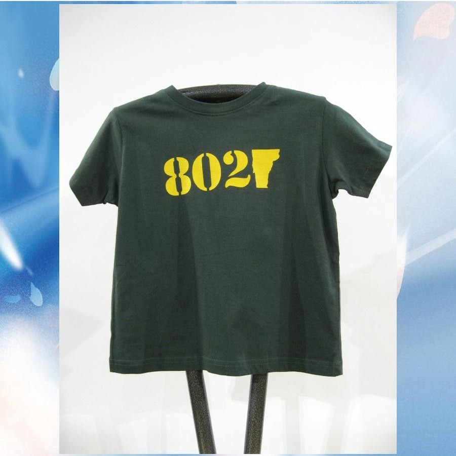 802 Classic Tee (toddler) (Forest/Yellow)