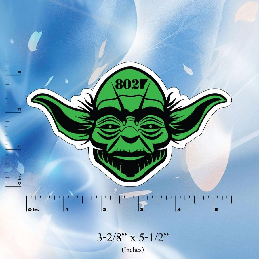 Lovermont 802 Yoda Sticker