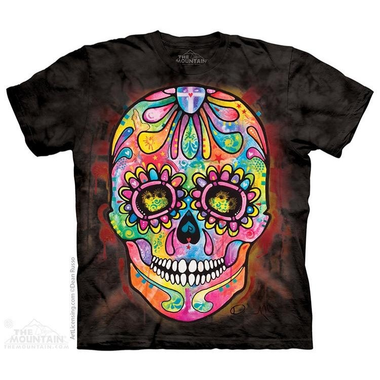 Mountain Day of the Dead Tee