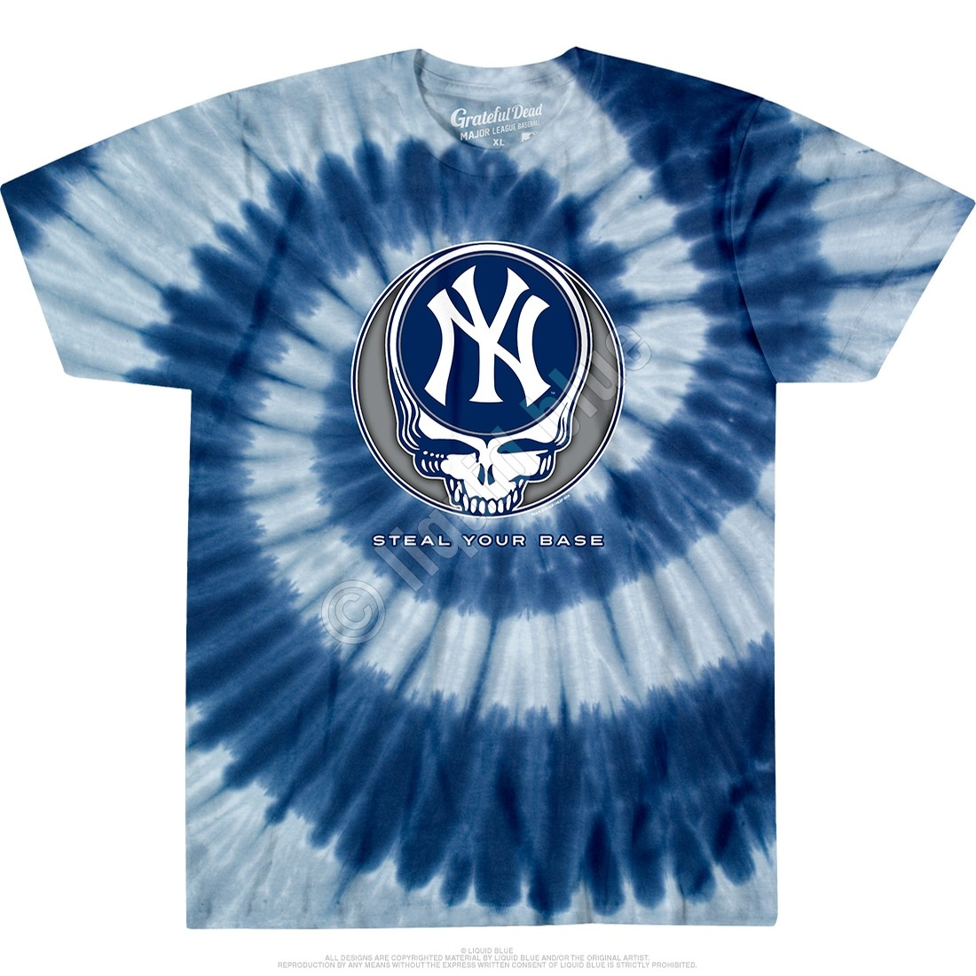 Yankees GD SYB Spiral Tee