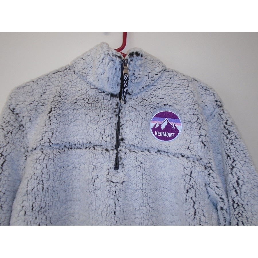 Sherpa Pullover (Frosty Grey)