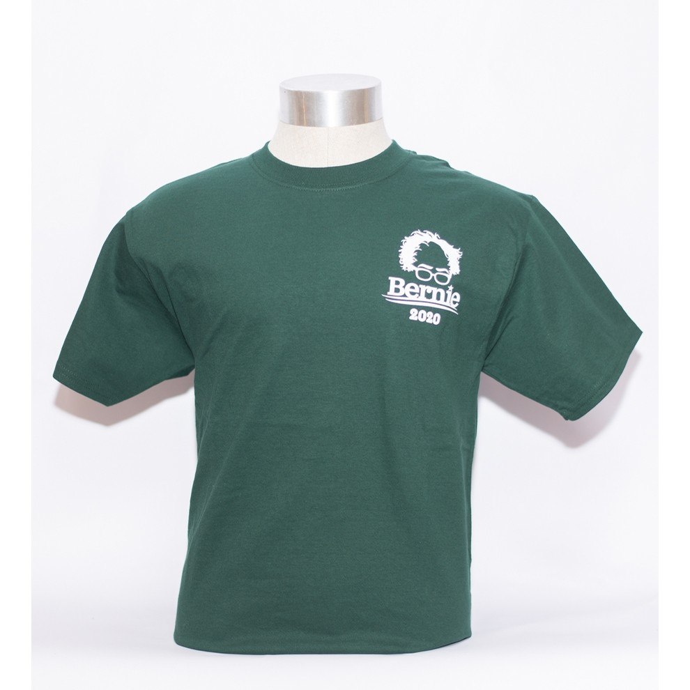 Bernie 2020 tee (forest/white)