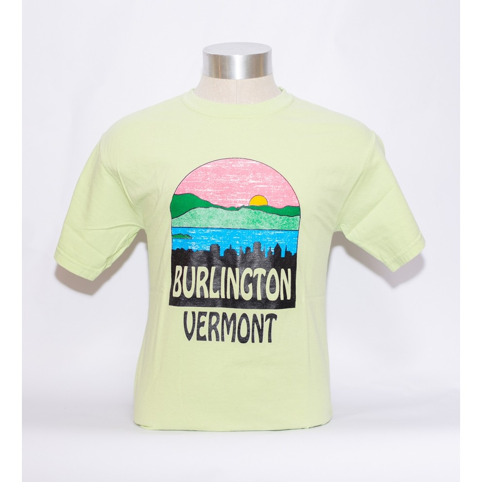 Burlington Skyline Tee (Celedon CC)