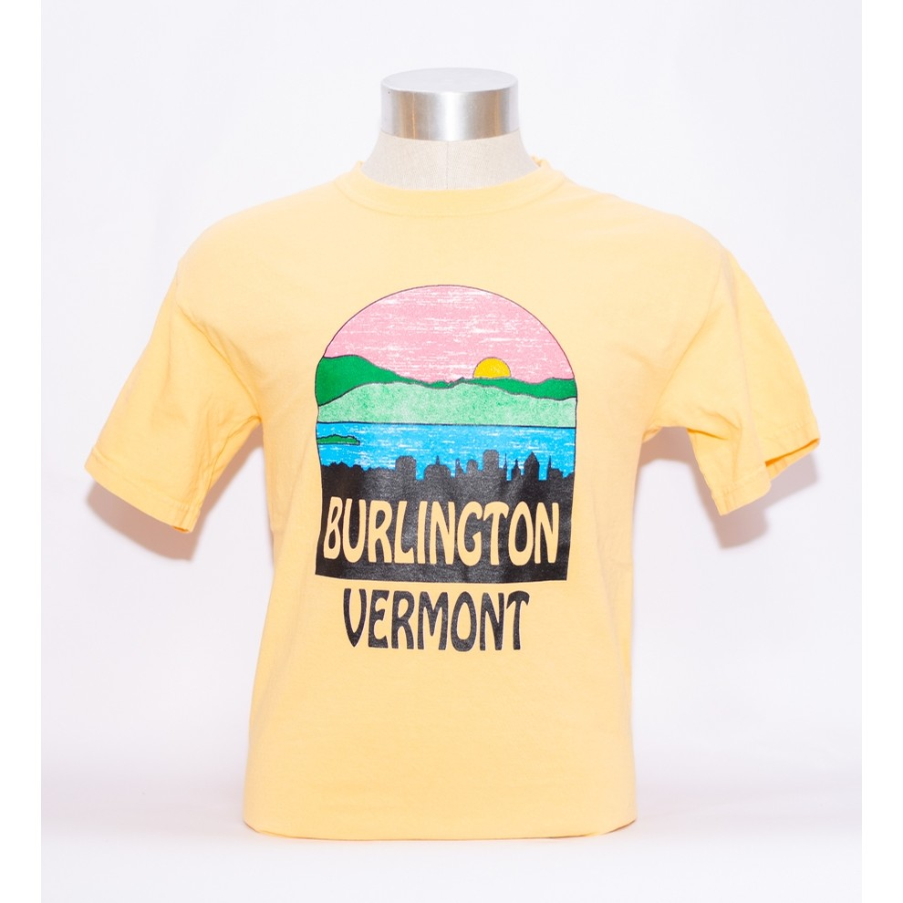 Burlington Skyline Tee (Squash CC)