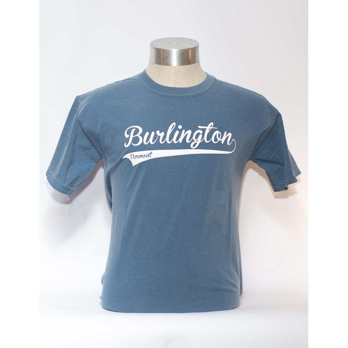 Burlington VT Swoosh Tee