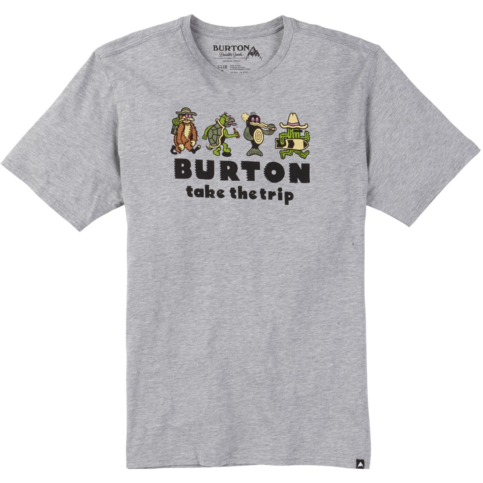 Burton MB Kodiak Tee (Gray Heather)