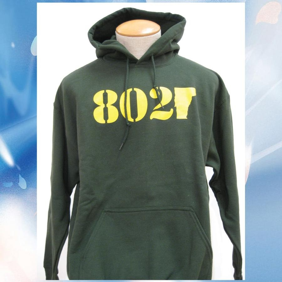 802 802 Classic Hood (Forest/Yellow)