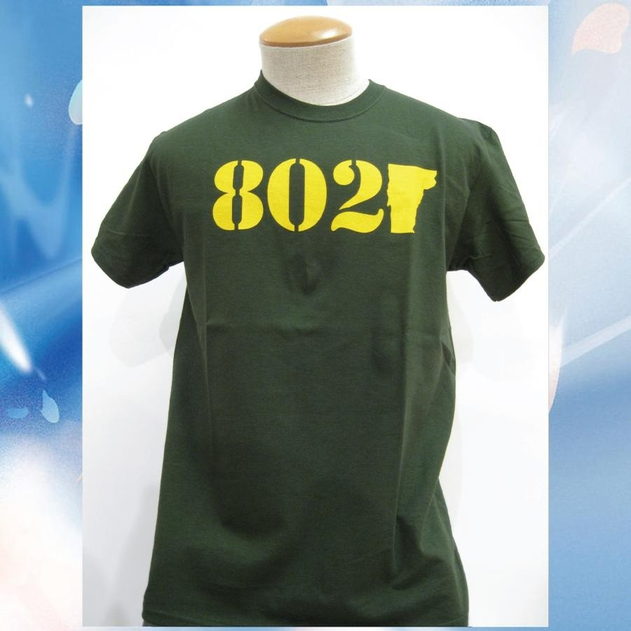 802 802 Classic Tee (Forest/Yellow)